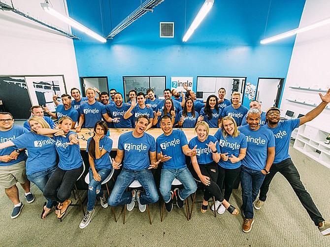 Photo courtesy of Medallia Zingle. Zingle was acquired for $42 million last year by software company Medallia.