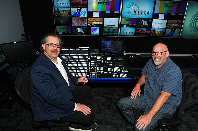 Vista Studios' Randall Heer and Mark Depping have built a nimble production facility.