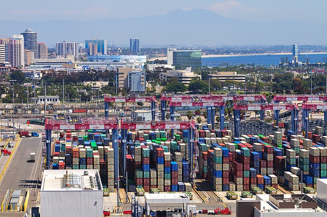 Port of Long Beach saw a 9.5% year-over-year increase in the number of TEUs it moved in May.