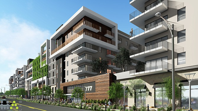 A rendering of 777 N. Front St. in Burbank.