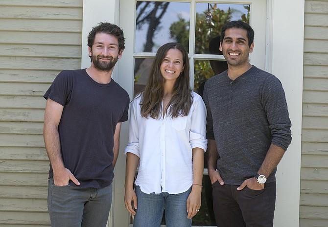 Daylight Community Development Partners Greg Comanor, Sonya Falcone and Aaron Sassounian.