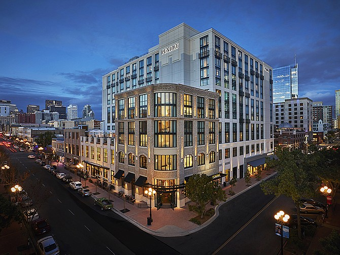 Photo courtesy of Pendry San Diego. The Pendry San Diego, located in the Gaslamp District, was founded in 2017.