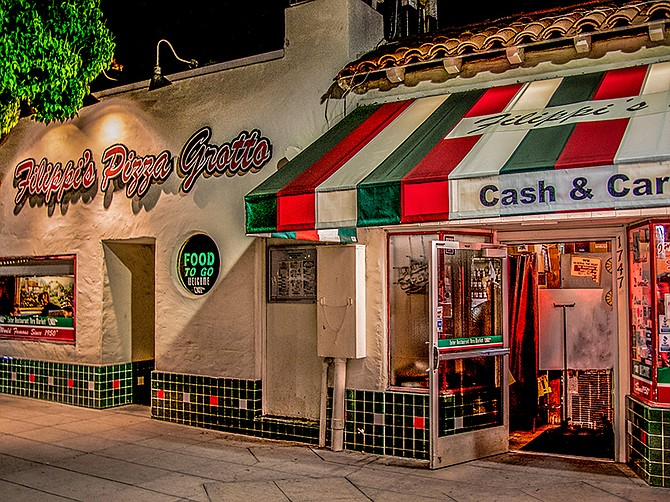 Photo courtesy of Filippi's Pizza Grotto. Filippi's Pizza Grotto was able to keep employees in a down economy with the help of a forgivable SBA loan obtained through Wells Fargo Bank.