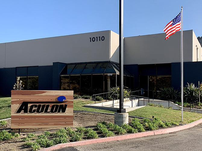 Photo courtesy of Aculon.