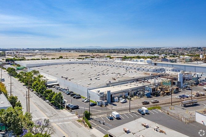Industrial portfolio tops 400,000 square feet.