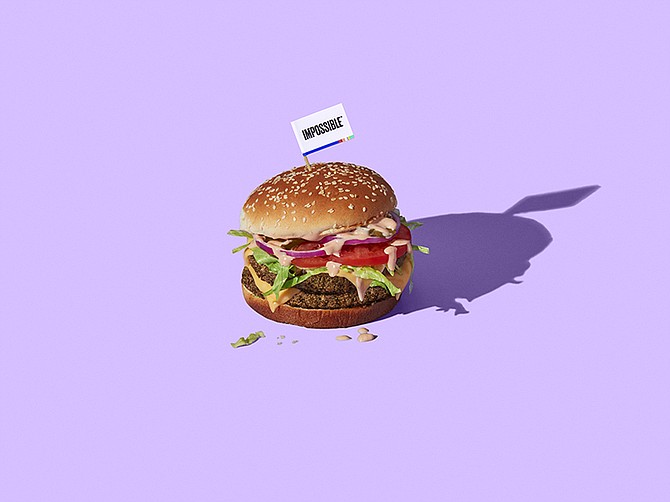 Photo courtesy of Impossible Foods.  Impossible Foods has seen an increase in sales since COVID-19.