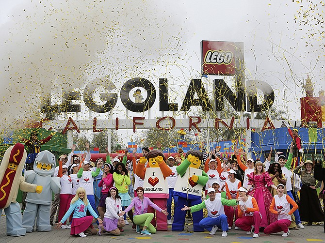Photo courtesy of LEGOLAND California Resort. LEGOLAND California Resort will hopefully open as soon as early July.