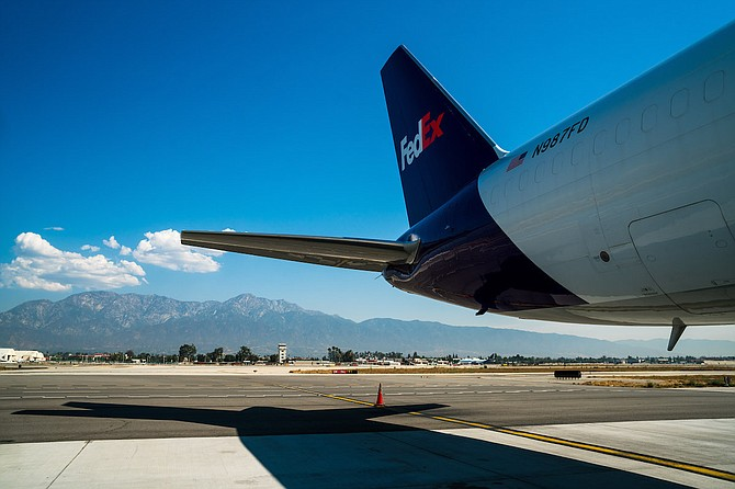 Cargo tonnage surged 21.5% at Ontario Airport in May.