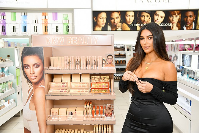 Kim Kardashian's KKW Beauty launched three years ago.