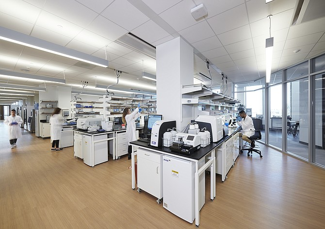 L.A.'s growth as a bioscience hub has led to new incubators, such as the BioLabs facility at the Lundquist Institute.