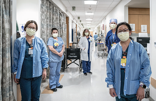 Nurses and physicians have adopted enhanced safety protocols at City of Hope. Due to its vast experience with