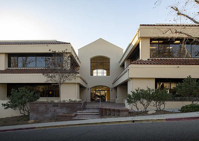 Office campus at 201 N. Westlake Blvd, part of portfolio sale.