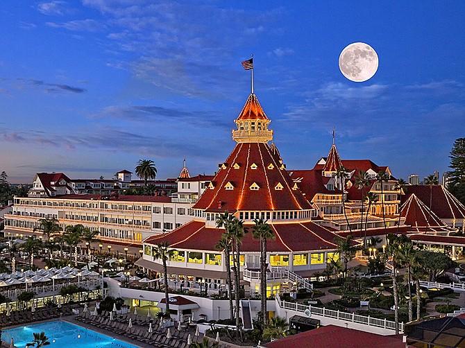 Photo courtesy of Hotel Del Coronado. Hotel Del Coronado used its closure to speed up its $400 million renovation project.