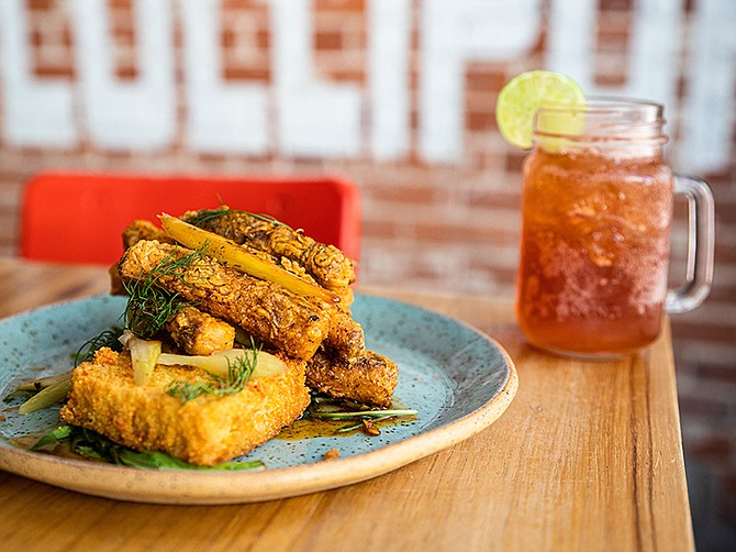 Photo courtesy of Ron Suel. Suckerfree Southern Plate & Bar, a full-service Southern food restaurant and bar, opened in 2018 in the Gaslamp District.