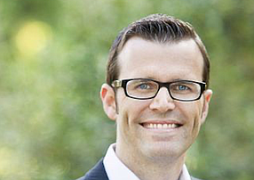 Jeremy Harris, the newly appointed CEO for Long Beach Area's Chamber of Commerce.