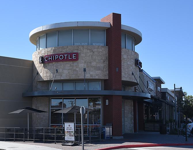 Chipotle in Newport Beach