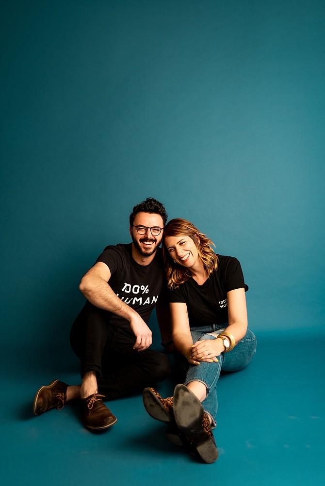 Kindman & Co. co-founders Paul and Kaitlin Kindman.