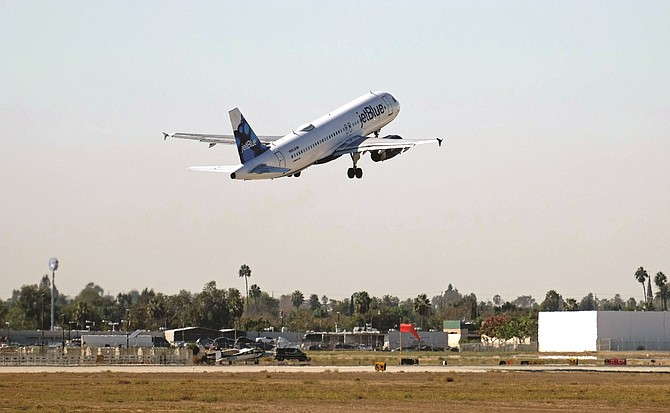 JetBlue plans to triple its daily flights out of LAX by 2025, including international routes.