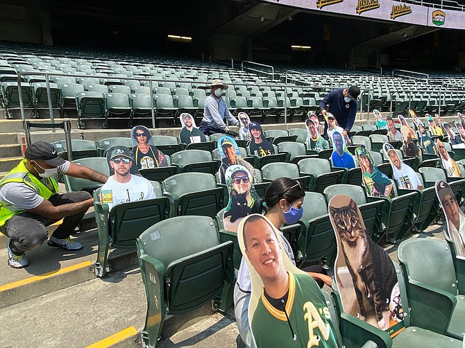 AAA Flag & Banner's fan cutouts will be filling seats at Major League Baseball games.
