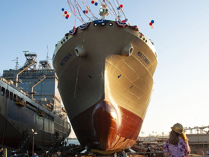 Photo courtesy of General Dynamics NASSCO.