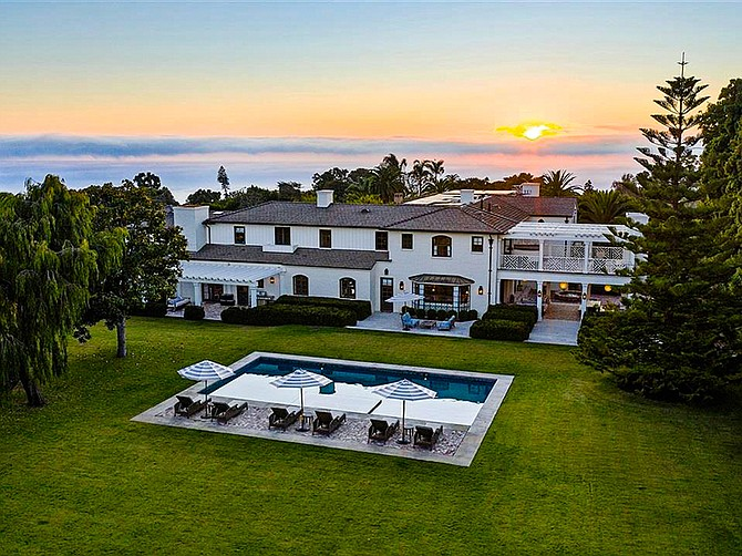 Photo courtesy of Willis Allen Real Estate. This La Jolla home has been listed for sale at $26 million.