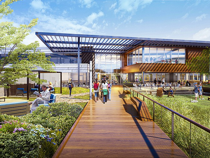 Renderings courtesy of CBRE.