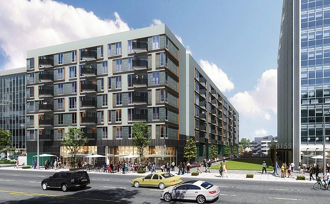 Rendering of Panorama Tower project's second phase in Panorama City.