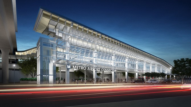 Riders will be able to transfer between rail, buses and LAX.