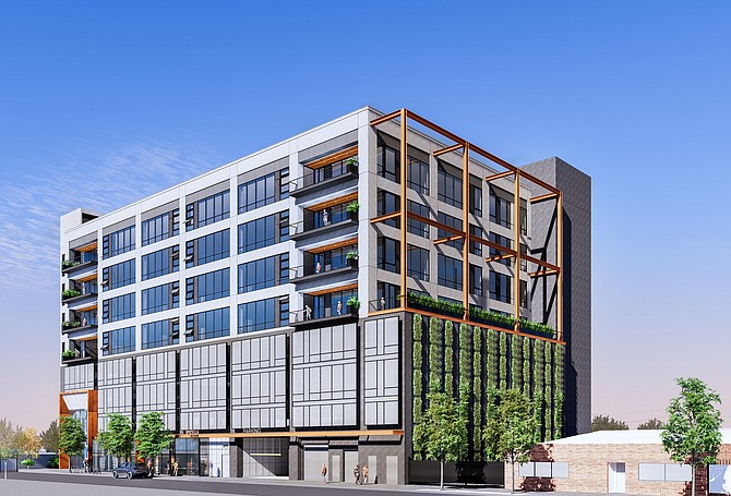The project will be near the Metro Little Tokyo/Arts District Regional Connector station.