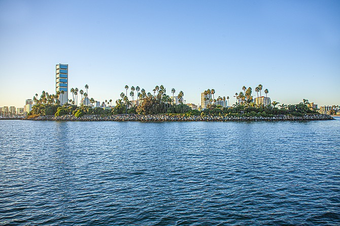 California Resources Corp. has interests in oil production in Long Beach Harbor.