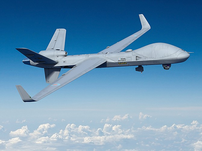 Photo courtesy of General Atomics Aeronautical Systems Inc.