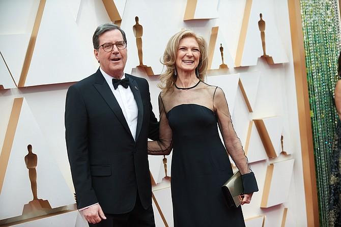 Academy President David Rubin and Chief Executive Dawn Hudson