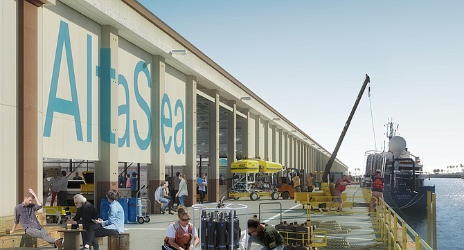 AltaSea is building out a 35-acre campus in San Pedro under a 50-year lease with the Port of L.A.