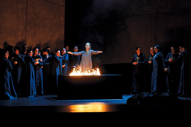 """""""Il Trovatore,"""" performed at the Opéra de Monte-Carlo, was scheduled for the L.A. Opera in September."""