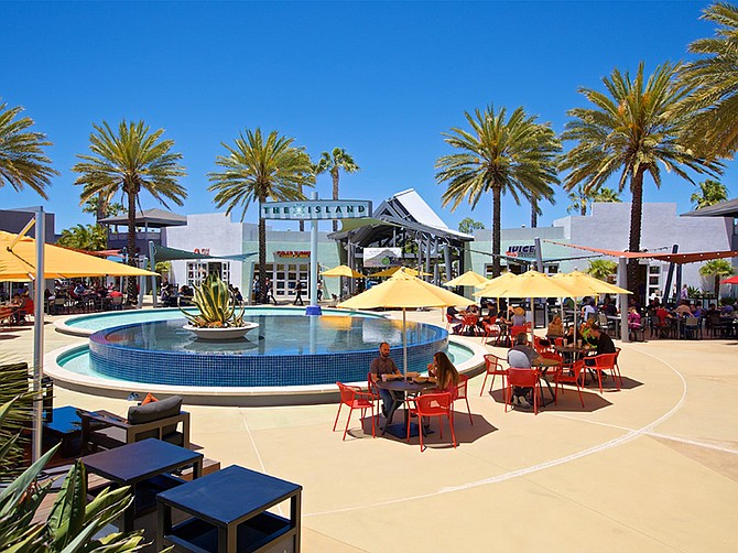 The Island at Carlsbad is among the shopping centers owned by Capstone Advisors. Photo courtesy of Capstone Advisors