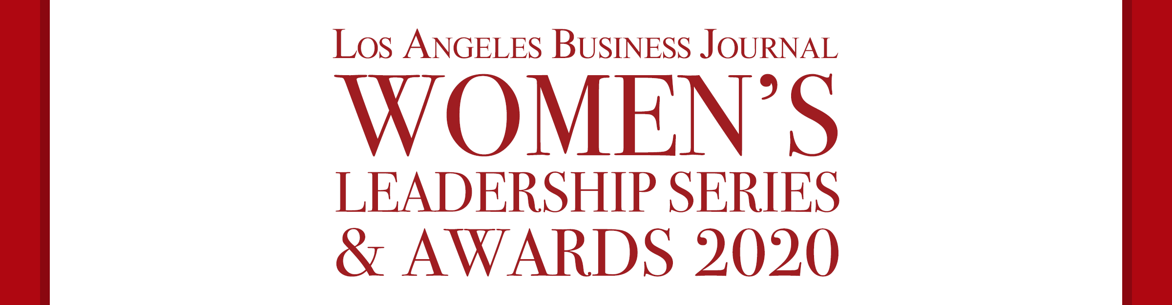 Women's Leadership Series & Awards 2020