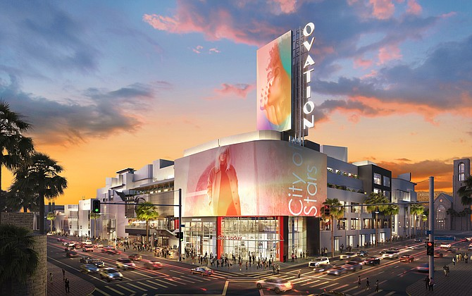 The Hollywood & Highland site reimagined for 2021.