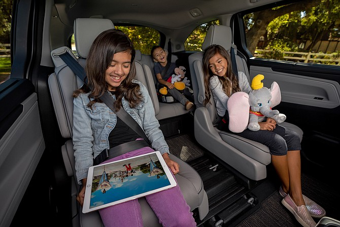 Honda's 2021 Odyssey is the official vehicle of Disneyland Resort.
