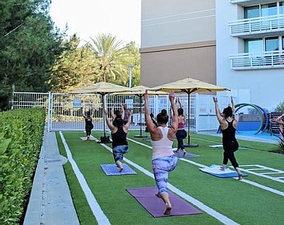 Renaissance ClubSport has moved its gym facilities outdoors