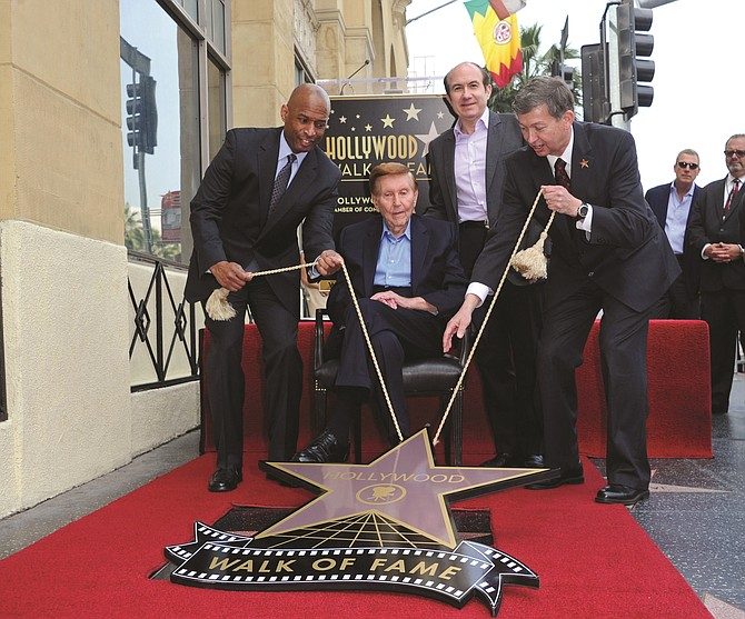 Sumner Redstone, who received a star on the Hollywood Walk of Fame in 2012, was driven to succeed.