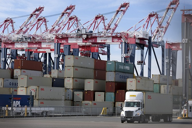 Of the 13,000 active trucks at the ports, 61% meet 2010 emissions standards, and 20 are zero emissions vehicles.