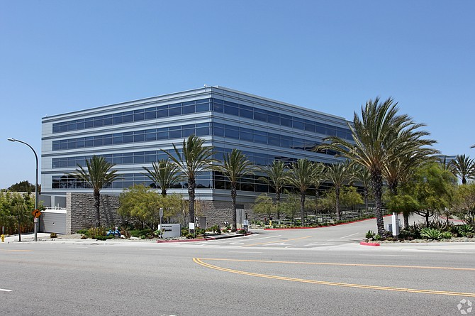 The 288,000-square-foot office campus was 33% leased at the time of the sale.
