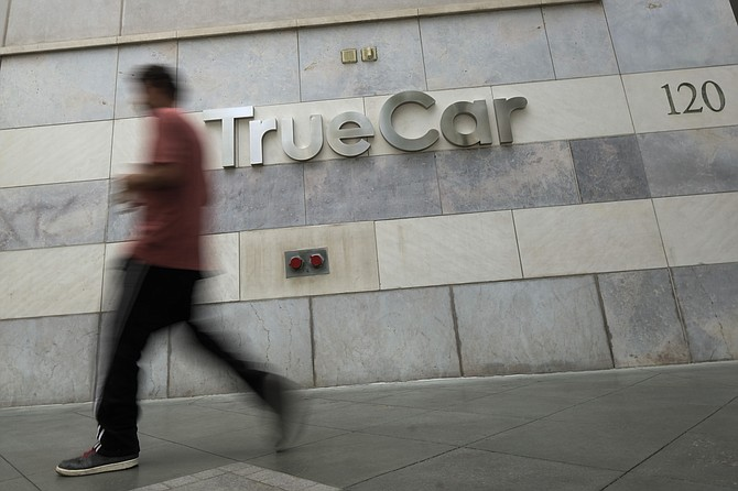 TrueCar stock rose after the company's earnings topped expectations.