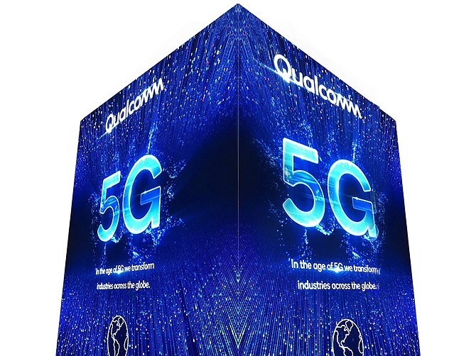 Photo courtesy of Qualcomm. Qualcomm is a leader in 5G technology.