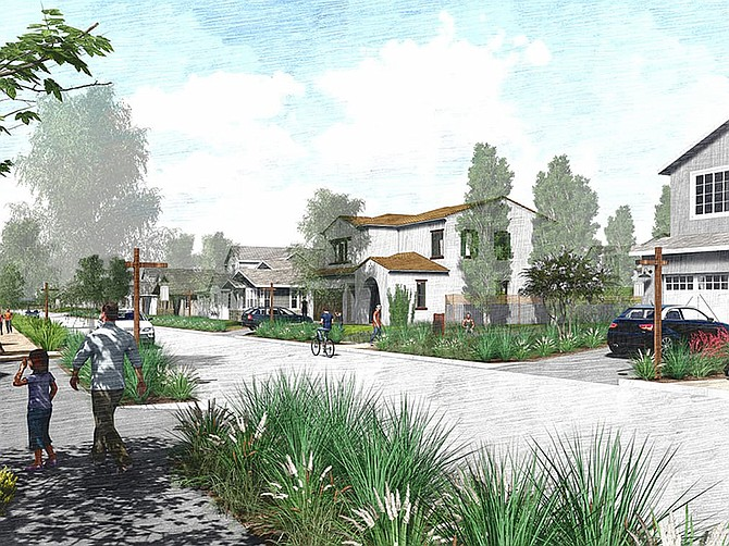 Rendering courtesy of Integral Communities. North River Farms is a housing development planned for Oceanside near the back gate for Camp Pendleton.
