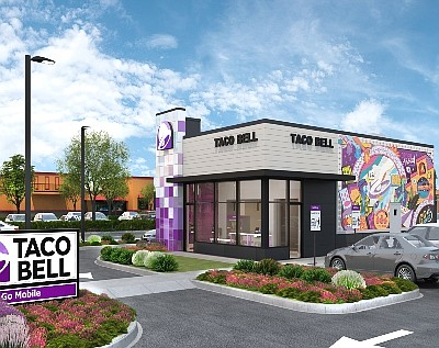 Taco Bell Go Mobile rendering