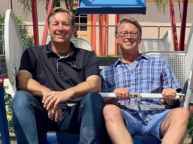 Shane and Scott Huish, sons of Family Fun Center co-founder John Huish, will restore the Kearny Mesa location.