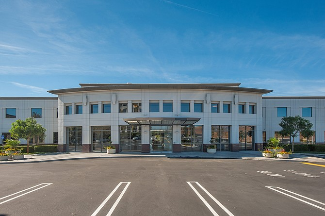 Pharmavite headquarters at 8531 Fallbrook Ave. in West Hills.