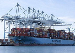 Port of L.A. is on track to move more than 10 million cargo units.