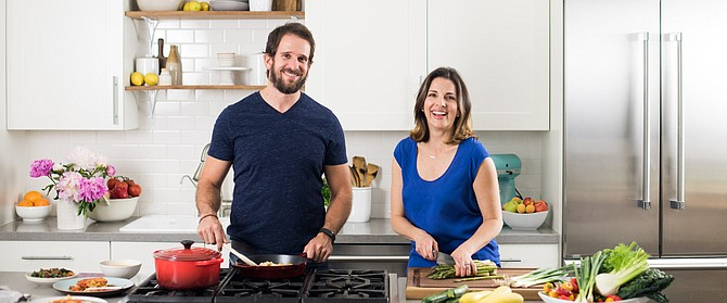 Veestro co-founders Mark Fachler and Monica Klausner saw orders jump in March.